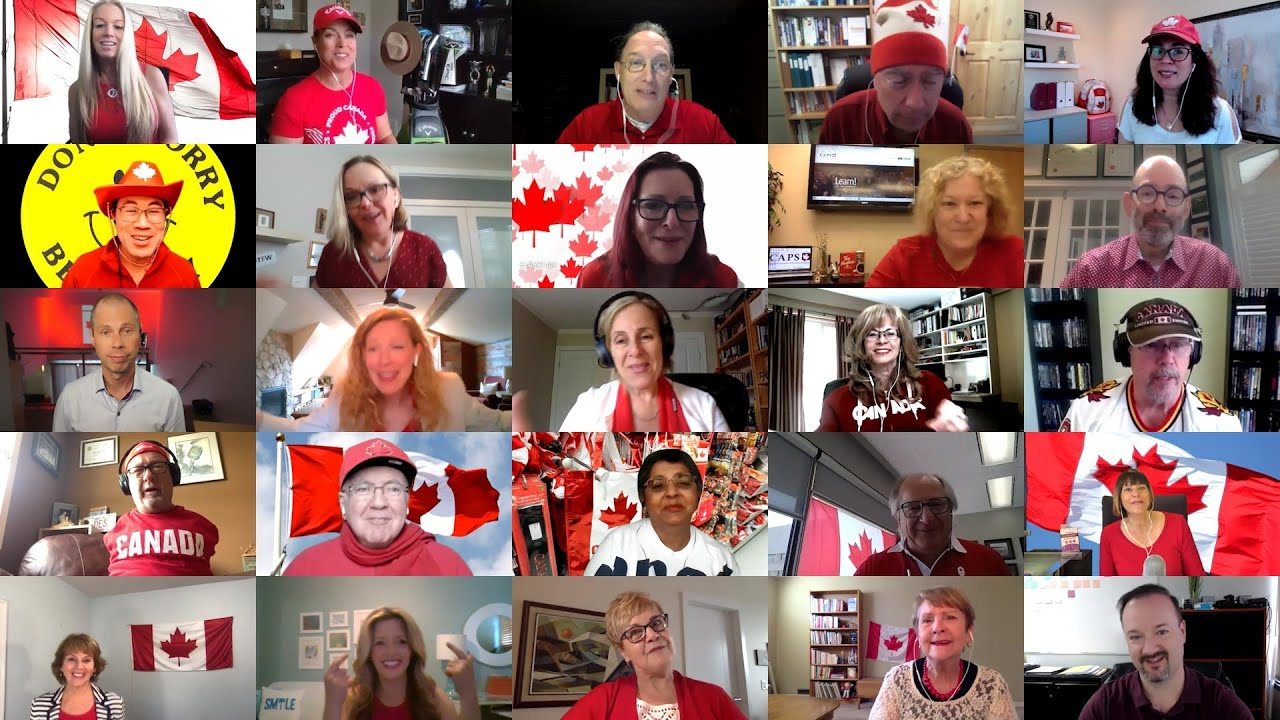 Don't Worry Be Happy CAPS #CanadaTogether A Cappella Edition