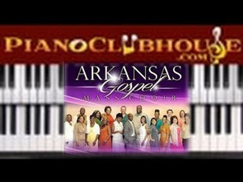 "♫ How to play ""YOU ALONE"" by the Arkansas Mass Choir (gospel piano tutorial lesson)"