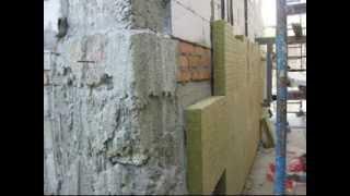 Утепление фасада минеральной ватой.(Утепление фасада минеральной ватой на нашем сайте Запорожский строительный портал IzbergNetUa http://izberg.net.ua http://iz..., 2013-12-31T10:20:05.000Z)