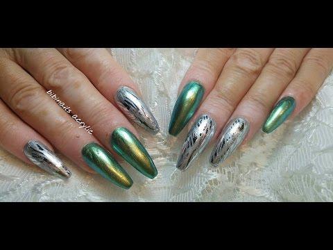 Acrylicas En Verde Tornasol Acrylic In Litmus Green