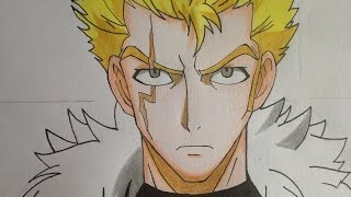 how to draw Laxus (Fairy Tail)