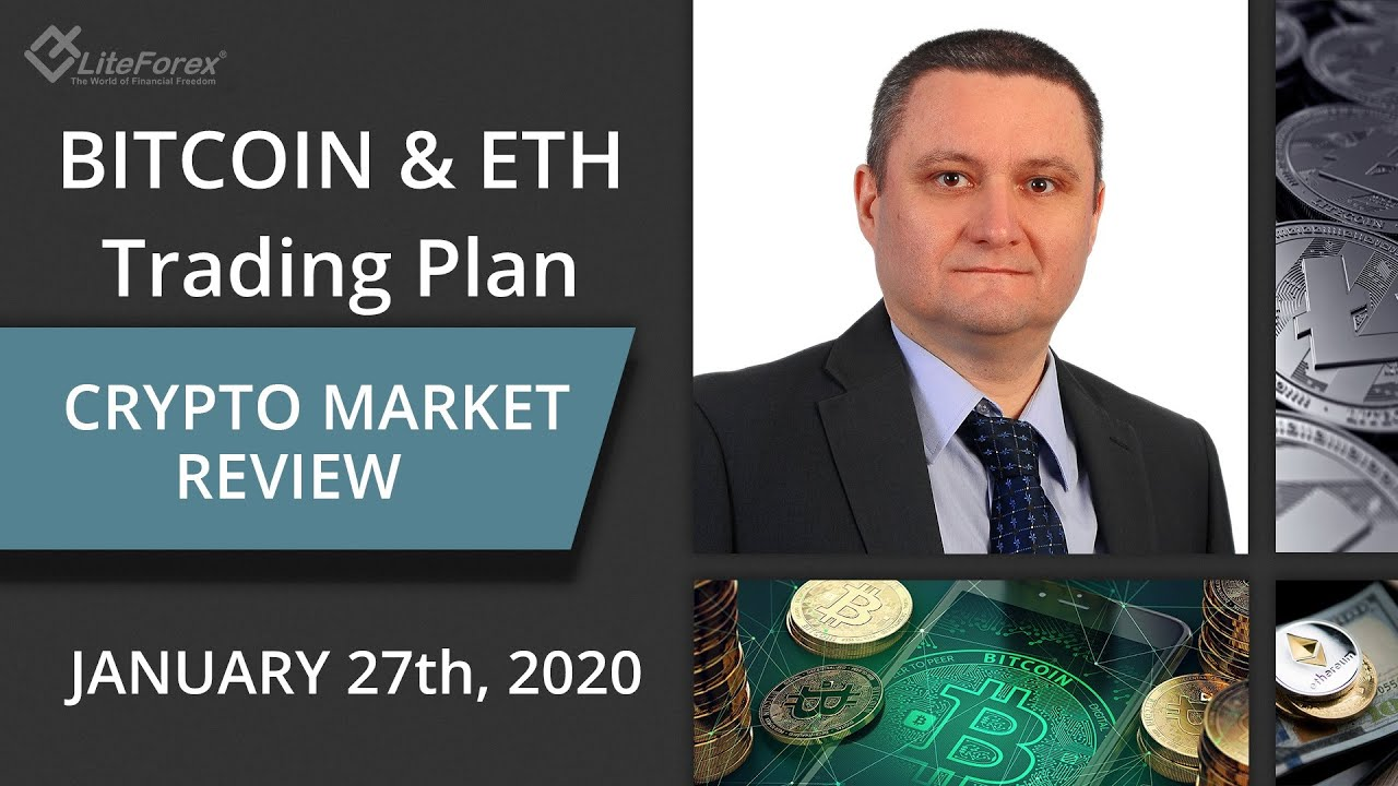 Crypto Trading Plan: Bitcoin and ETH Price Action, Market Makers Manipulation 27.01.2020 3