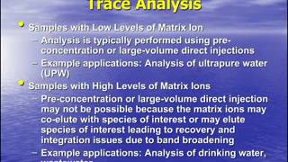 Comparison of EPA Methods 300.1, 317, 326 and 302 for Bromate Analysis