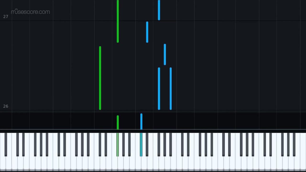 Calm 1 | Minecraft - Piano Tutorial