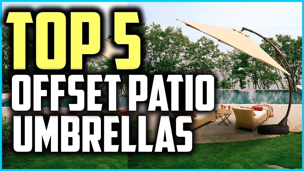 Top 5 Best Offset Patio Umbrellas