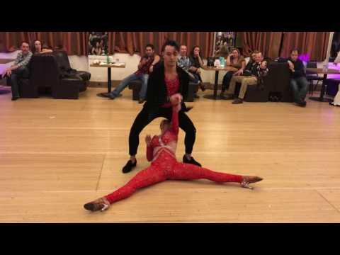 Mike Zuniga & Jennifer Silva Bachata Dance @ Granadas LA 2017