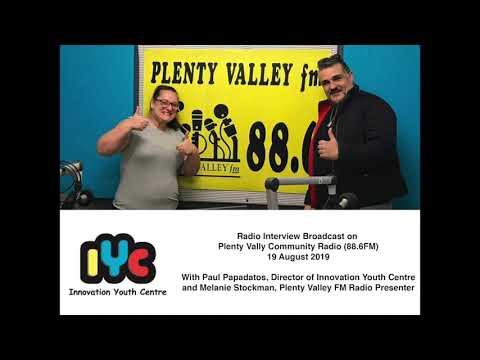 Radio Interview Plenty Valley Community Radio 86.6 FM