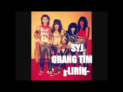 SYJ - Orang Timur (lirik)