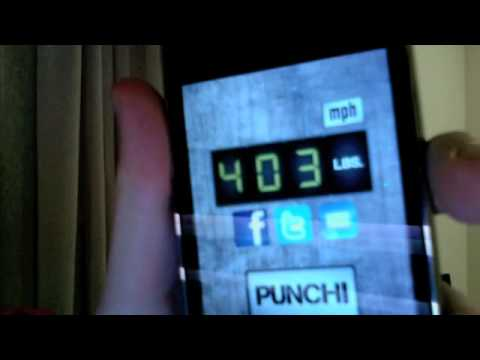 Best iPhone Apps - Punch Power Meter