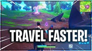 TRAVEL FASTER USING SHADOW STONES! - BunnyHop Fortnite Glitch