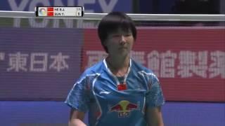 Yonex Japan Open 2016 | Badminton F M4-WS | He Bingjiao vs Sun Yu