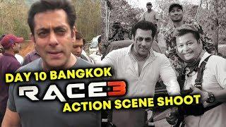 RACE 3 - Bangkok में Salman Khan के धमाकेदार ACTION SCENE की Shooting | #Day10