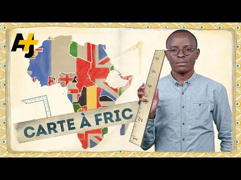 Carte à fric : Qui a tracé les frontières en Afrique ?