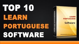 Best Portuguese Learning Software - Top 10 List