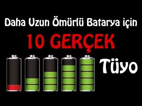 Daha Uzun Ömürlü Batarya İçin 10 Gerçek Tüyo