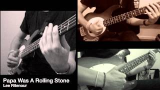 Lee Ritenour - Papa Was A Rolling Stone [BASS COVER]