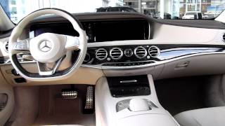 2015 Mercedes-Benz S-Class S350 Bluetec 4Matic AMG Detailed Exterior Interior Review