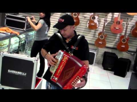 JAIME  LOS CHAMACOS LEADER GABANELLI ACCORDION SHOPHOUSTON, TX 02272016