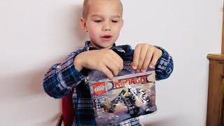 Build and Play Lego Ninjago Set