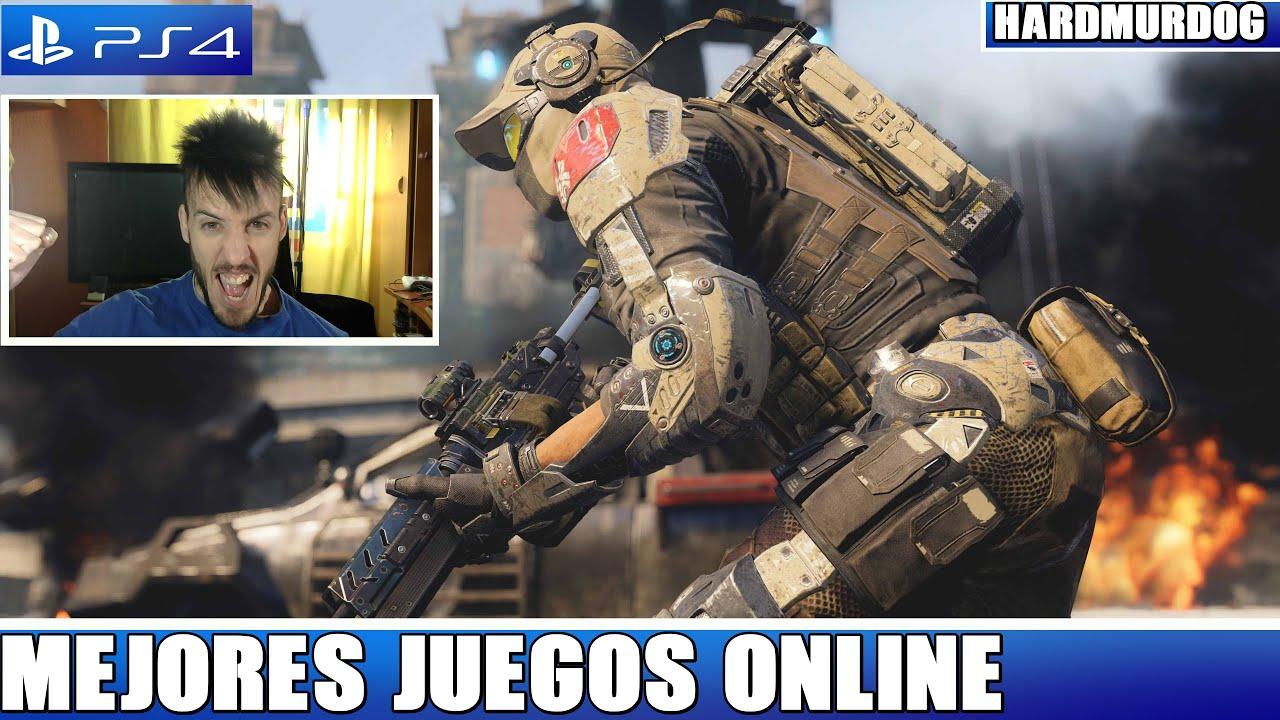 Los Mejores Juegos Multijugador Online Ps4 2016 Hardmurdog Youtube
