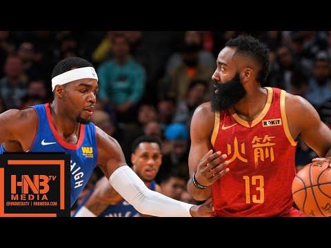 Houston Rockets vs Denver Nuggets Full Game Highlights | 02/01/2019 NBA Season