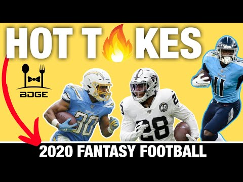 Hot Takes For The 2020 Fantasy Football Season