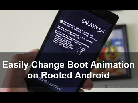 How To Change Android Boot Animation Youtube