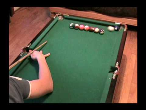 Amazing pool trick shots in small table artistic pool - Awesome swimming pool trick shots ...