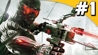 Crysis 3 Gameplay Walkthrough  Part 1 - Post Human - Mission 1 [PC]