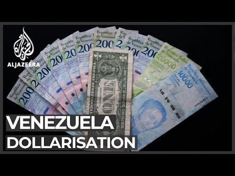 Venezuela dollarisation: Use of American dollars increasing
