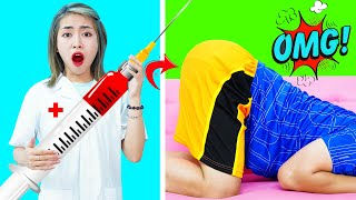 SCHOOL PRANKS! Easy Funny Pranks For Back To School! Life Hacks and Genius Supply Tricks!