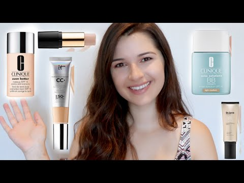Top 5 BEST Foundations | HOT, Humid Weather