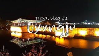 TRAVEL VLOG #1 | SUCH A BEAUTIFUL CITY Gyeongju, South Korea