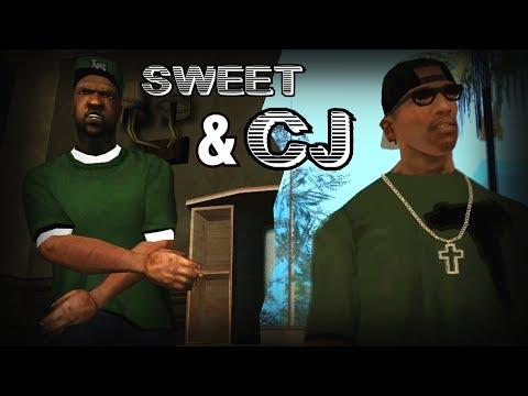GTA:SA | Sweet vs CJ [rap?] | feat. Beverly Johnson