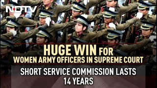 39 Women Army Officers Get Permanent Commission After Supreme Court Win