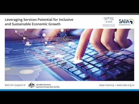 Leveraging Services Potential for Inclusive and Sustainable Economic Growth - Session I