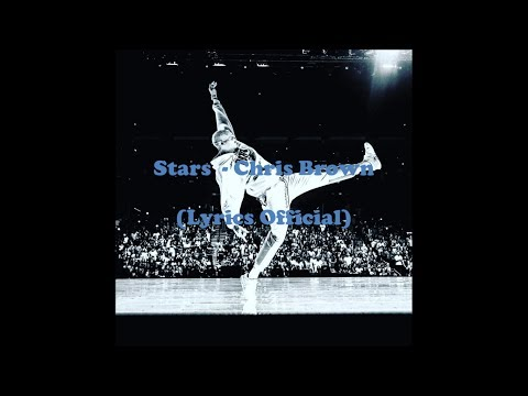 Stars - Chris Brown (Lyrics Official)