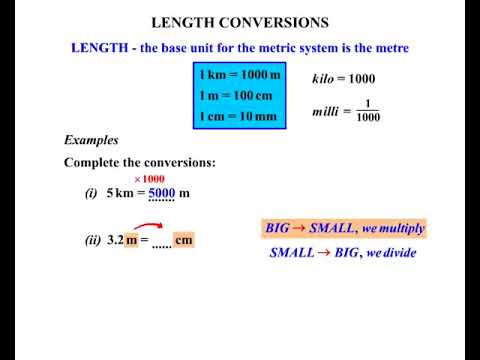 length conversions 1