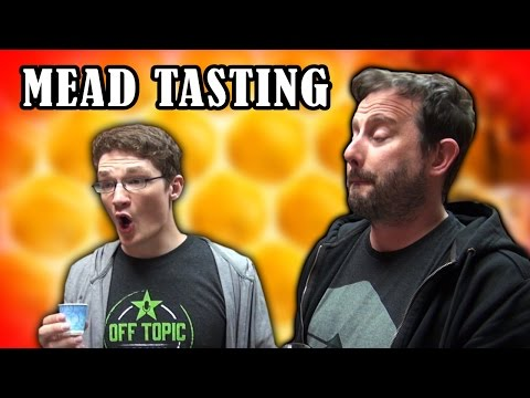 Guest Mead Tasting Ft. Achievement Hunter