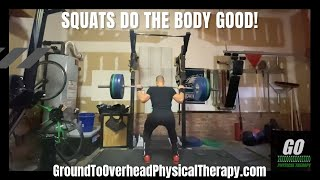 Squats do the body good!