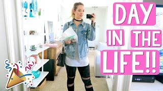 DAY IN THE LIFE!!! AlishaMarieVlogs