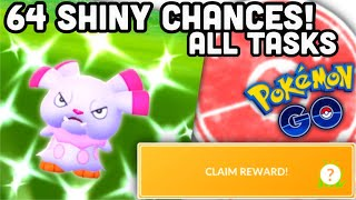 68 chances to get shiny Snubbull in Pokemon GO | All Tasks & super EASY!