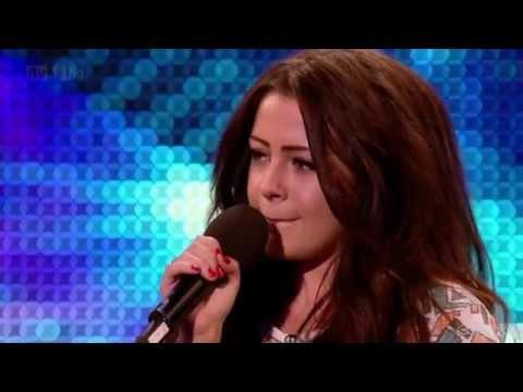 Chelsea Redfern  Purple Rain @ Britains Got Talent 2012 Auditions