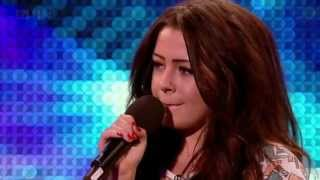 chelsea redfern   purple rain britains got talent 2012 auditions