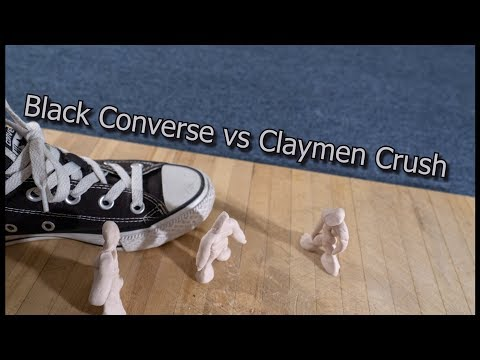 Black converse crush claymen