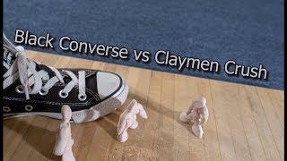 Black Converse vs Claymen Crush
