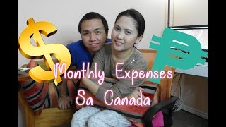 Monthly Expenses sa Canada | Buhay Canada