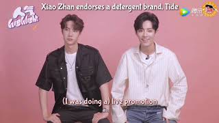 [Eng Sub] 《人气highlight》with Wang YiBo and Xiao Zhan (140819)