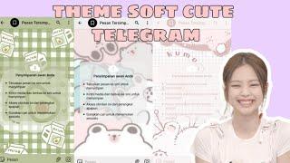 theme telegram soft cute-link theme di desk screenshot 1
