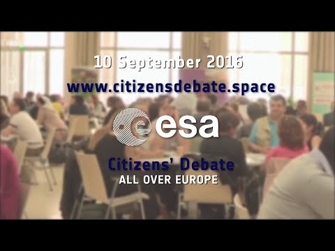 (Finnish) 10 September 2016: Citizens' Debate on Space for Europe in 22 ESA Member States